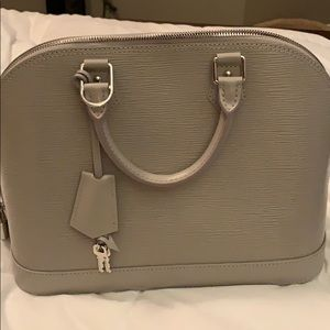 Louis Vuitton Alma PM Gris Grey